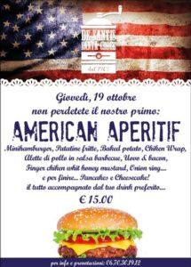 Aperitivo a Roma - De Santis Santacroce - degustazione hamburger e altri piatti americani con drink
